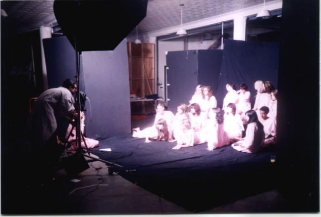 girls wearing robes