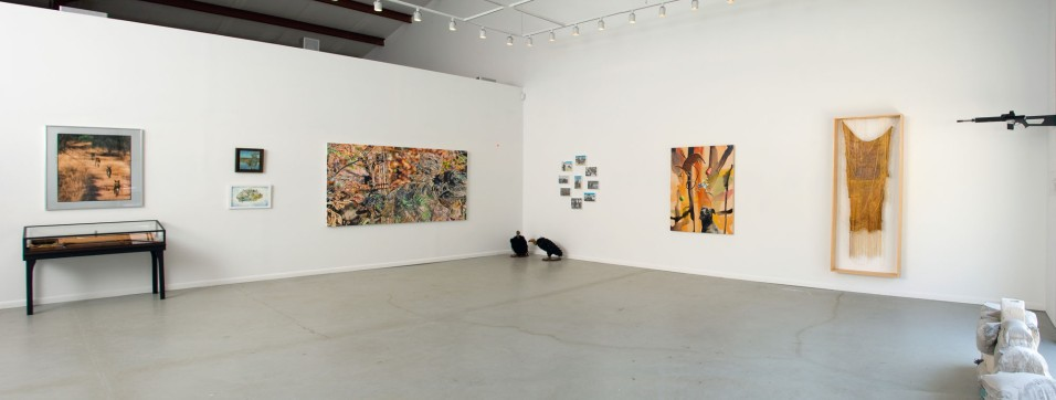 Installation view, Hunt & Chase, James Salomon Gallery , Hamptons, NY 2010