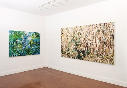 Installation view, Blackston Gallery, NYC, 2010