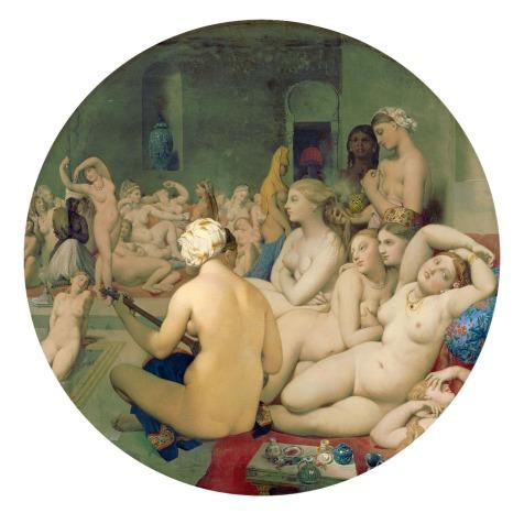 Ingre's Turkish Bath