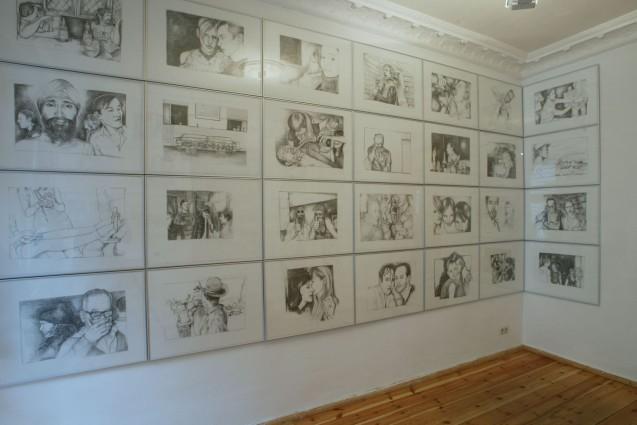 Installation view, Laura Mars Gallery, Berlin, 2002